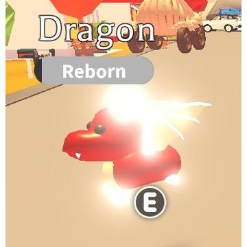 Roblox Adopt Me Dragon NR
