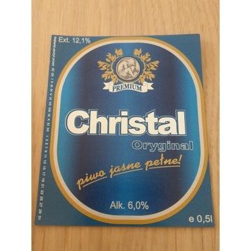 Christal oryginal piwo jasne pełne
