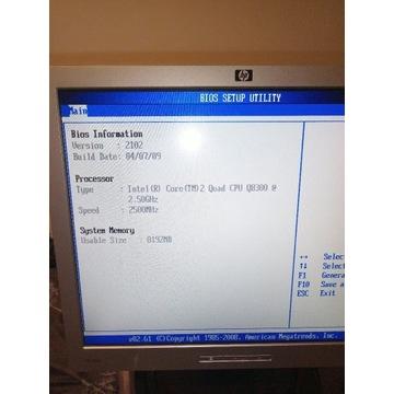 Komputer Intel core 2 quad q8300  4x2.5ghrz