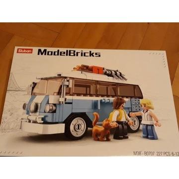 Klocki 227 elementów typu Lego Model Brick Nowe