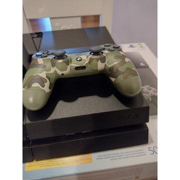Konsola Sony PS4 500 GB. Używana, w 100% sprawna.