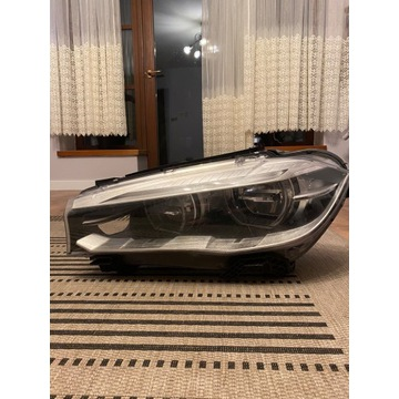 BMW X5 X6 F15 LAMPA LEWA FULL LED