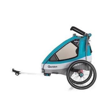 Przyczepka rowerowa Qeridoo Sportrex 2 2020 W-wa