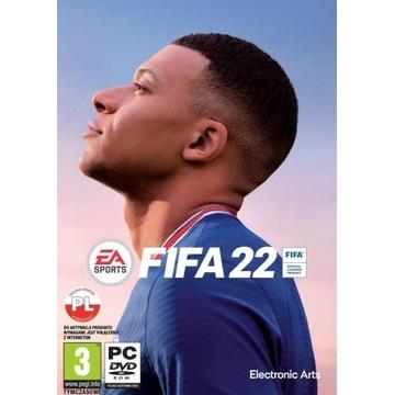 FIFA 22 |ORIGIN|BEZ VPN|KLUCZ|PC|POLSKI KOMENTARZ|