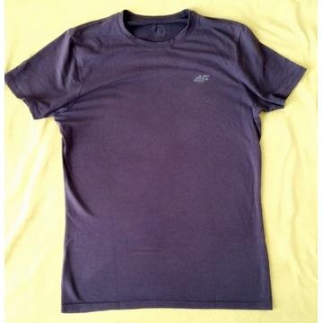 T shirt 4F slim fit L okazja!