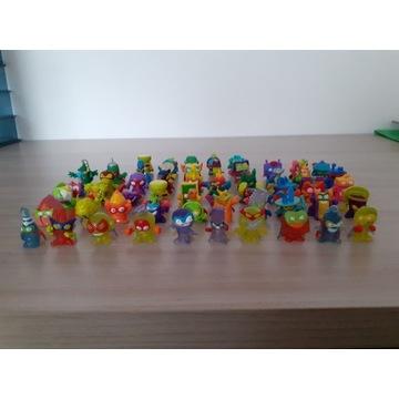 Super Zings, figurki, komplet 55sztuk, 10 krystali