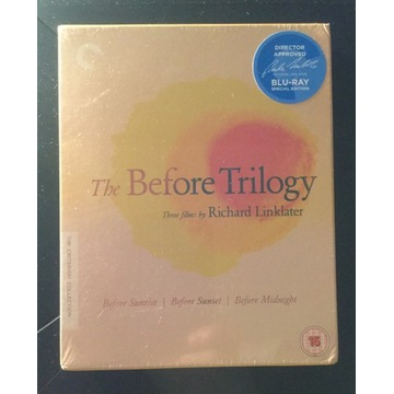 THE BEFORE TRILOGY - CRITERION  (BLU-RAY)