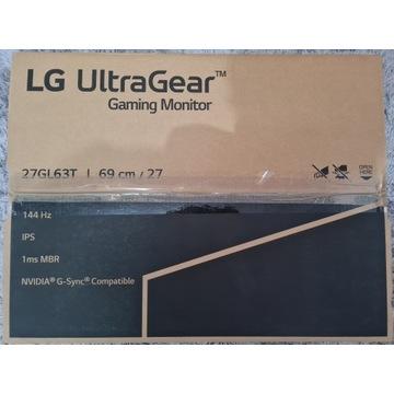 Monitor Gamingowy LG 27GL63T 27'