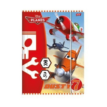 Teczka z gumką, format A4, licencja PLANES