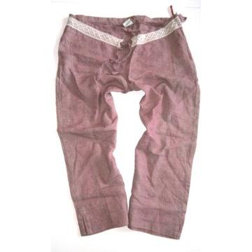 Spodnie ciazowe liliowe 36 torelle