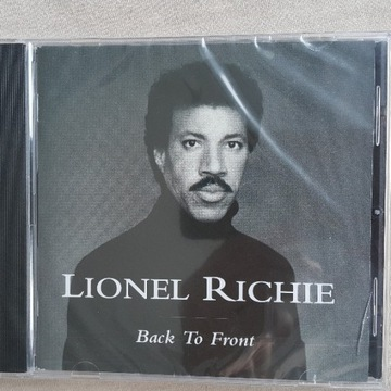 CD Lionel Richie - Back To Front. Folia.