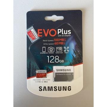 EVO PLUS 128GB microSD microSDXC, plus adapter