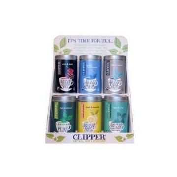 Clipper Półka Drewniana na herbaty,kawy, przyprawy