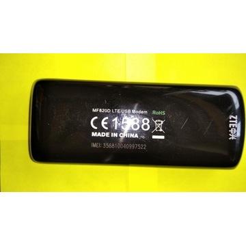 2 sztuki MODEM 4G/LTE ZTE MF820D