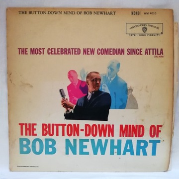 The Button-Down Mind Of Bob Newhart LP