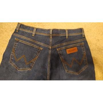 Spodnie męskie  jeansowe Wrangler W38L30 38/30