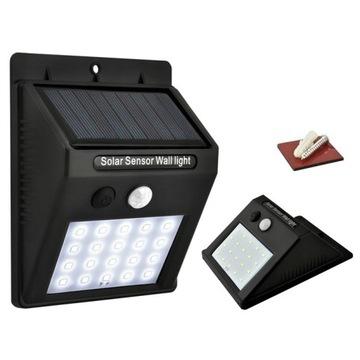 Lampa solarna 30LED z czujnikiem ruchu i zmierzchu