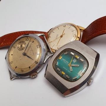 Stare zegarki longines,atlantic,i bez nazwy
