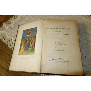 Książka religijna z 1891 roku