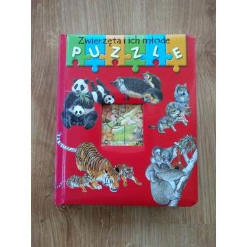 Zestaw puzzle i gra dla najmłodszych