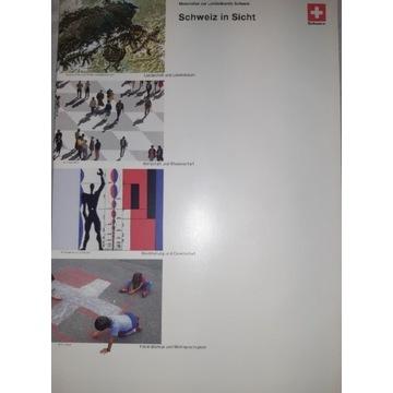 Landeskunde Schweiz -teczka z materiałami