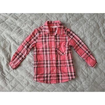 Pepco. Koszula w kratę na długi rękaw, rozmiar 86