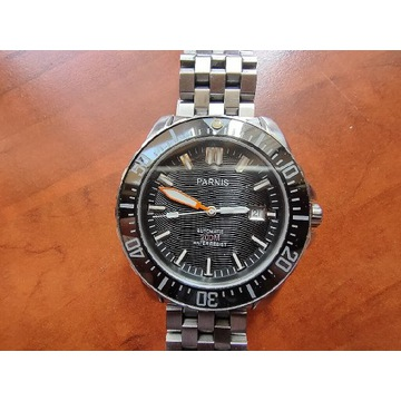 Zegarek Parnis PA 6007 Diver Nurek Automatic