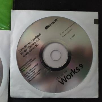 Microsoft works 9 płyta DE