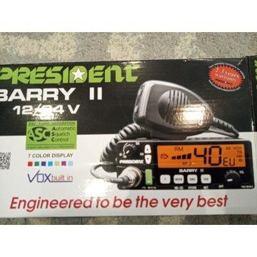 Cb radio President Barry II 12/24v