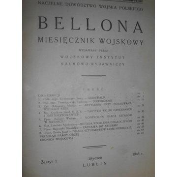 BELLONA miesięcznik wojskowy z. 1 1945