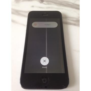iPhone 5 16GB Black Czarny z oryginalnym pudełkiem