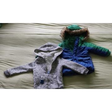 Kurtka + bluza dla dziecka