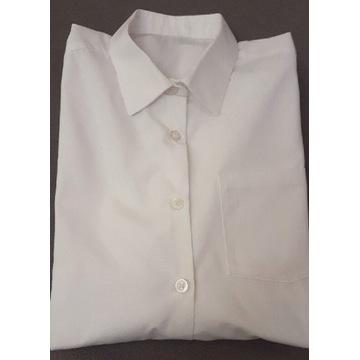Jankes Koszula KOMUNIA biała 140cm JAK NOWA