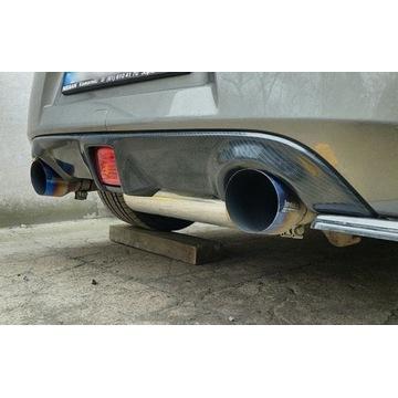 Nissan 370z dokładka / dyfuzor zderzaka / carbon