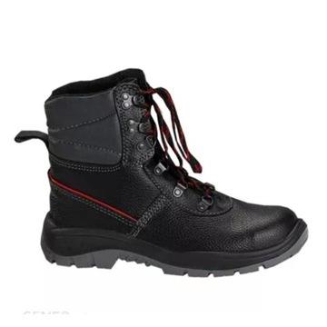 Buty robocze PPO model 0151 czarne, r. 45 NOWE !!!