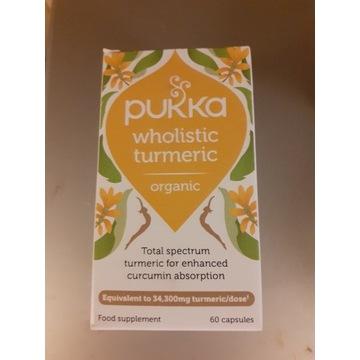 Pukka wholistic Turmeric ekstrakt z kurkumy