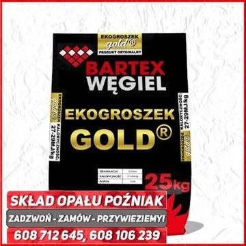 Ekogroszek Bartex GOLD, Workowany,Wysokokaloryczny