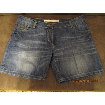 Spodenki krótkie dżins Next 16/46-48
