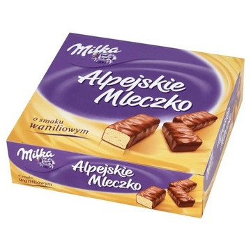 Milka Ptasie Mleczko waniliowe 330g
