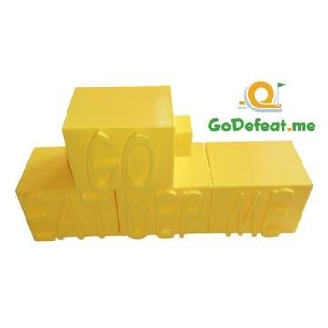 Minigolf Przeszkoda Druk 3D ŚCIANKA GoDefeat.me