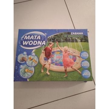 Wodna mata do zabawy w ogrodzie dla dzieci 170cm
