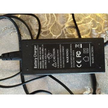 Deskorolka elektryczna zasilacz ładowarka 36v.1,5A