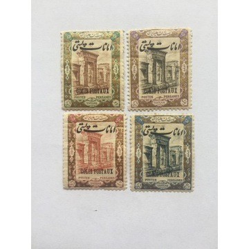 Znaczki Iran seria 32/35 - po 1914rok