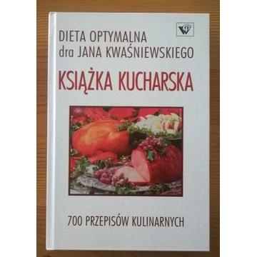 Książka kucharska Dieta optymalna J. Kwaśniewski