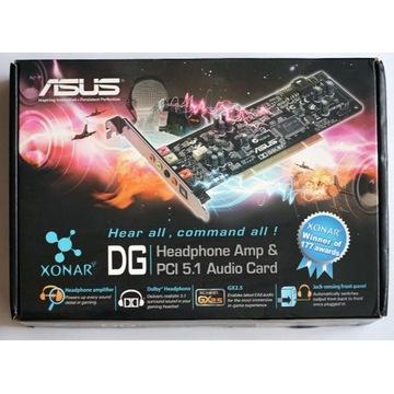 Karta dźwiękowa ASUS Xonar DG PCI 5.1 +Low profile