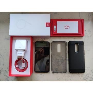 Telefon Oneplus 6 8/128 stan idealny + akcesoria