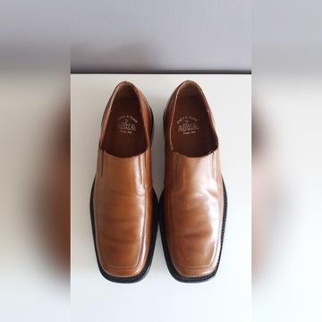 Nowe, skórzane, solidne buty polskiej firmy ALKA z