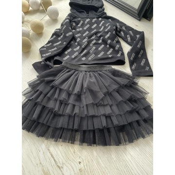 Tiulowa spódnica Zara r128