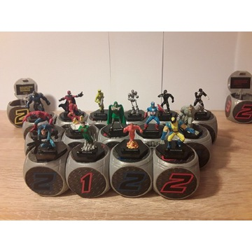Battle Dice Marvel - figurki kolekcjonerskie
