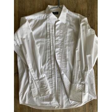Koszula z żabotem żabot 43